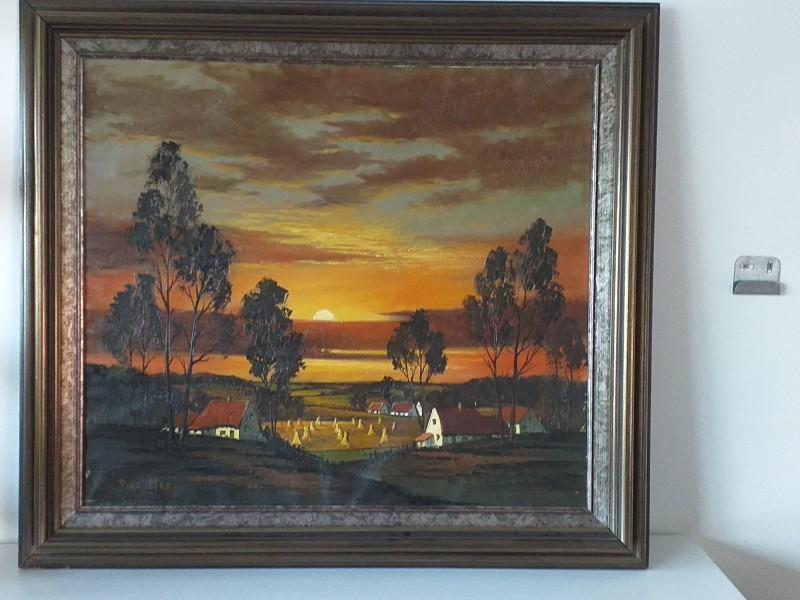 Schilderij Piet Mees