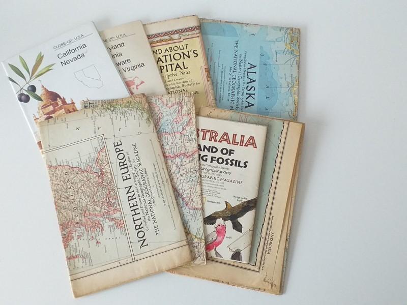 18 landkaarten