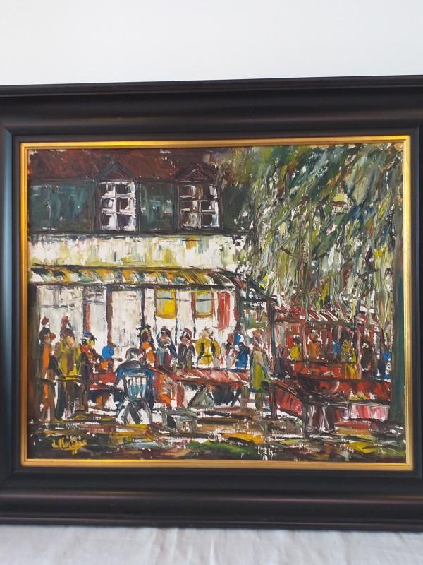 Schilderij De Martinushoeve van de kunstenares Lisette Heeffer