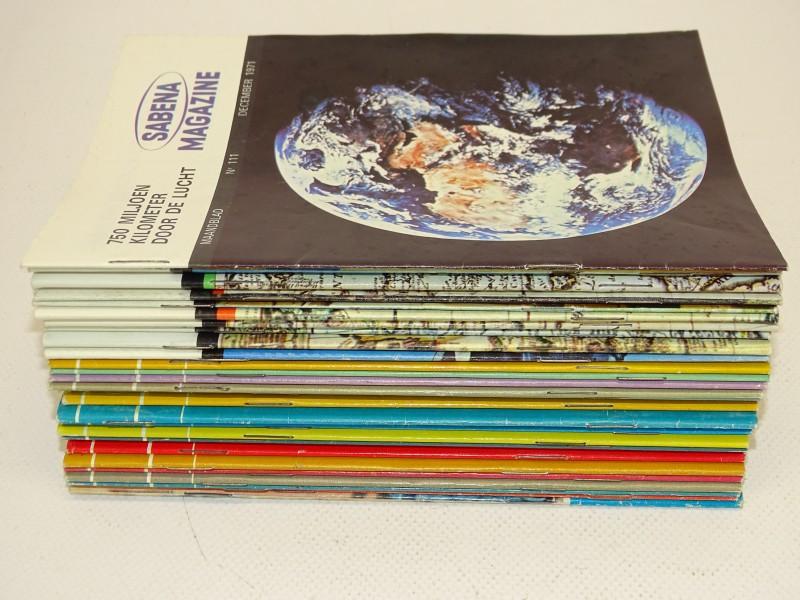30 Sabena Magazines, 1968 - 1971