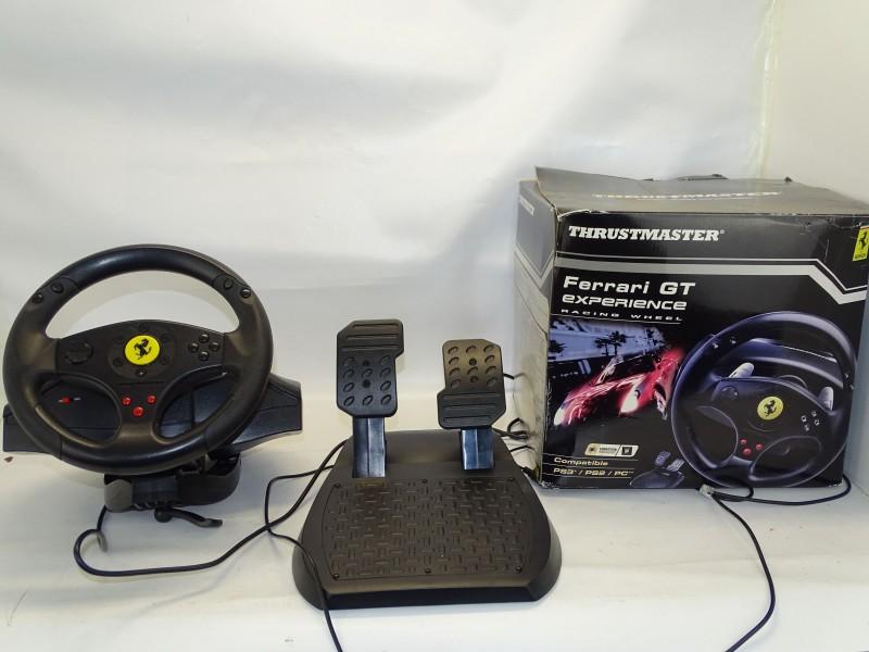 Thrustmaster Racestuur voor PC en PS3: Ferrari GT Experience