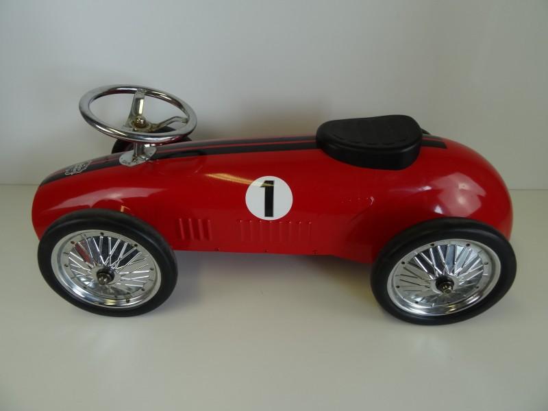 Retro Roller Loopauto Formule 1