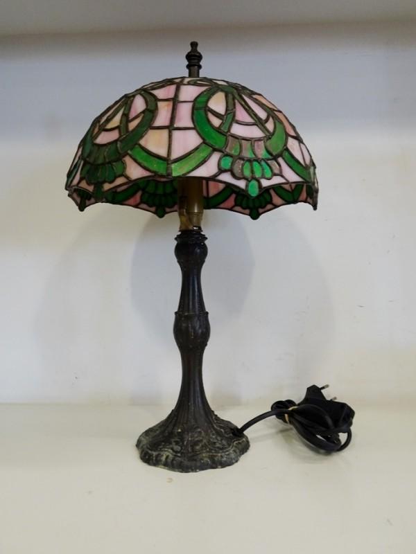 Tafellampje in Tiffanystijl