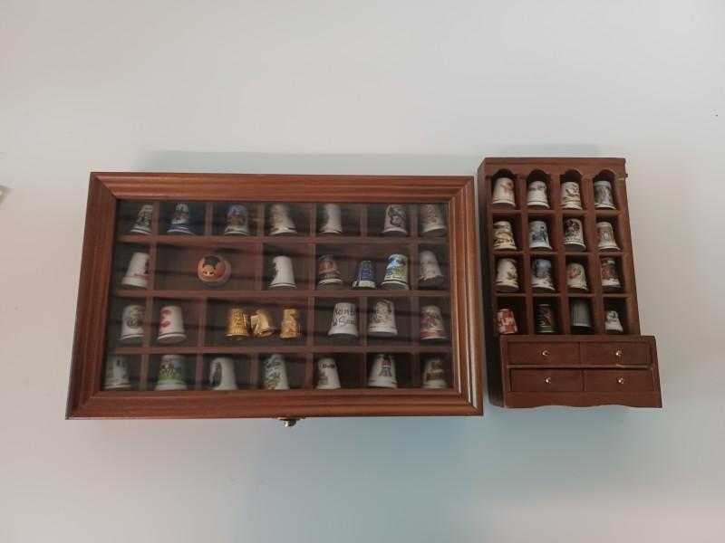 Collectie vingerhoedjes