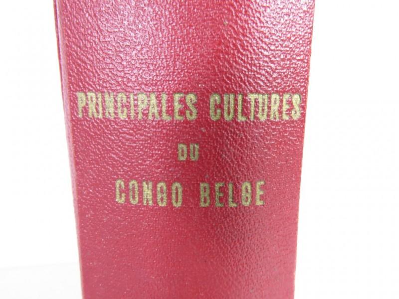 Boek - Principales cultures du Congo Belge