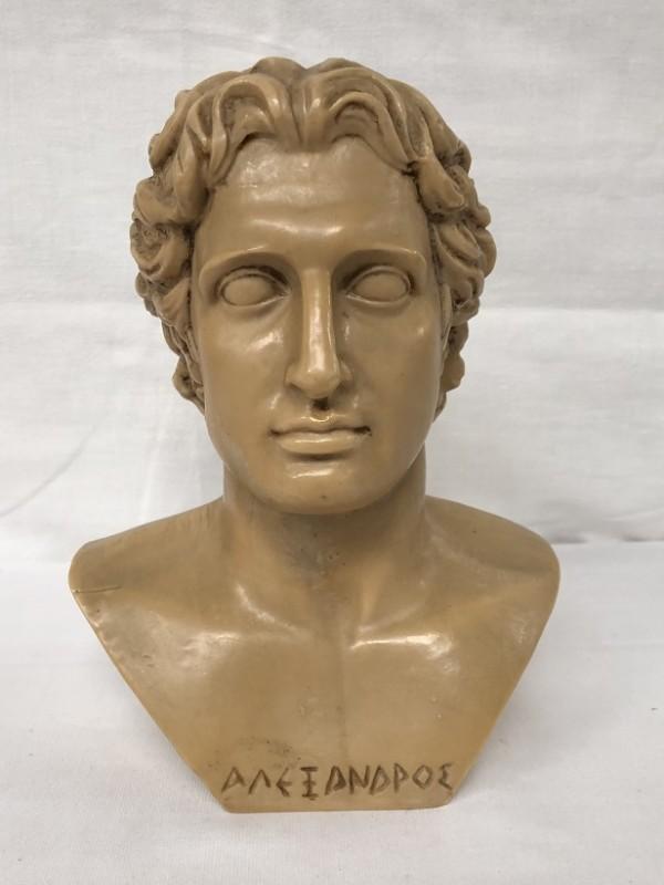 Prachtige buste Alexander De Grote