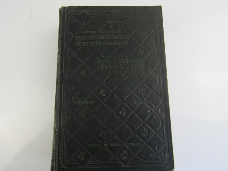 Oud Woordenboek: Frans - Nederlands / Nederlands - Frans uit 1946