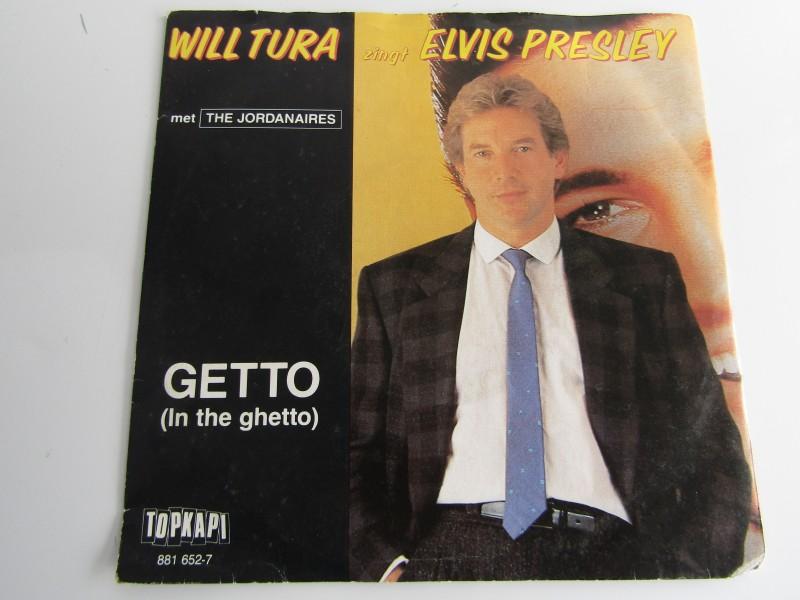 Single, Will Tura Zingt Elvis Presley met The Jordanaires: Getto / Duivelskind, 1984