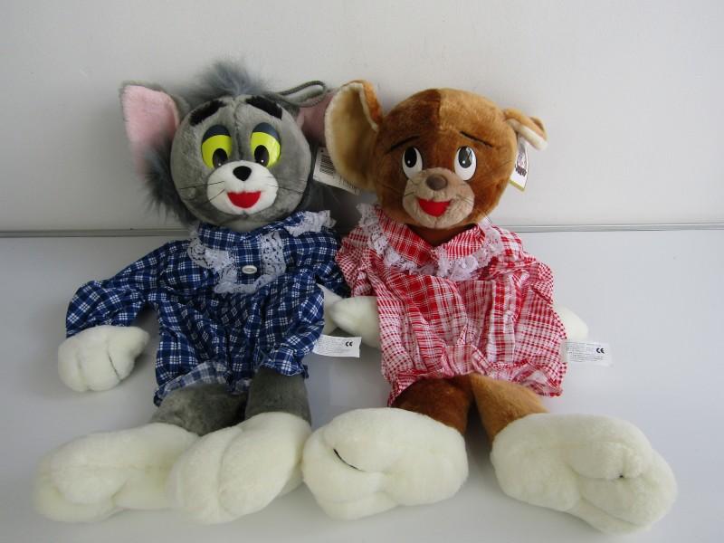 2 Knuffels: Tom & Jerry, Nicotoy, ©1995