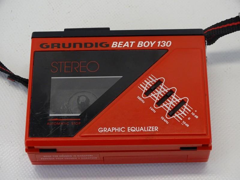 Walkman: Grundig, Beat Boy 130, 1985