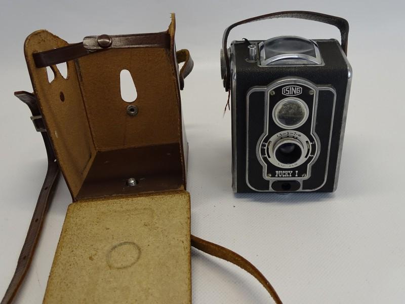 Retro Fototoestel / Boxcamera: Ising Pucky, Jaren 50, Duitsland