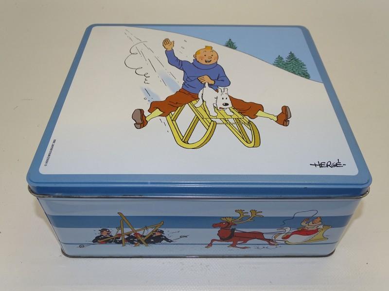 Blikken Doos: Kuifje in de Winter, Herge, Moulinsart 2003