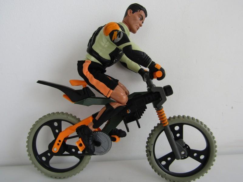 Action Man Actiepop met MTB / Crossfiets, Hasbro, 1998-1999