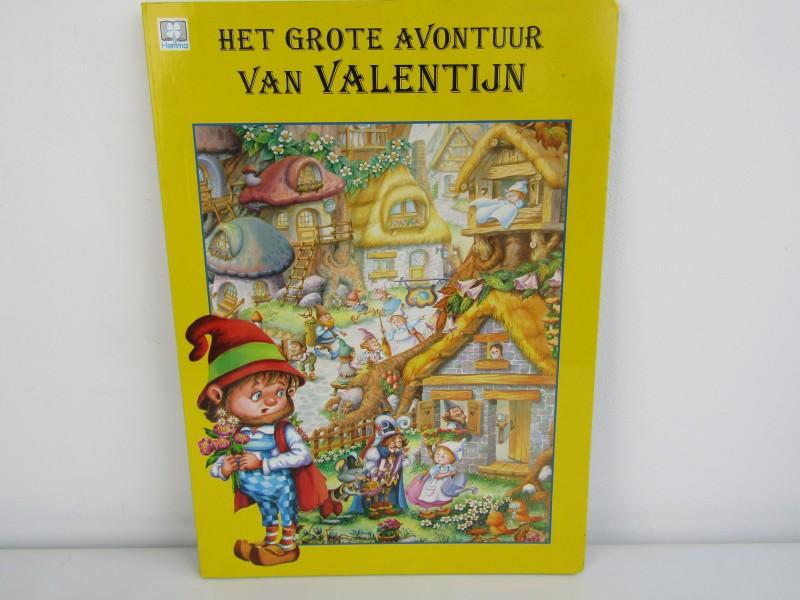 Groot Kinderboek: Het Grote Avontuur van Valentijn, Uitgeverij Hemma