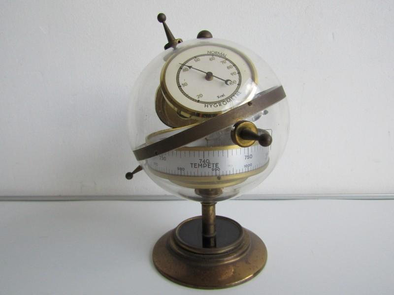 Sputnik Weerstation: Barometer, Thermometer en Hygrometer