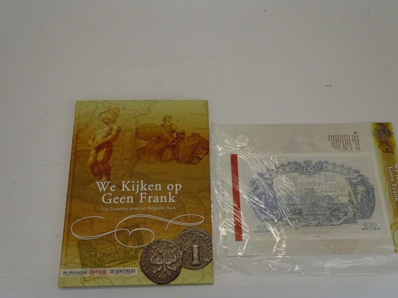 Boek + Munten: We Kijken Op Geen Frank, 2006