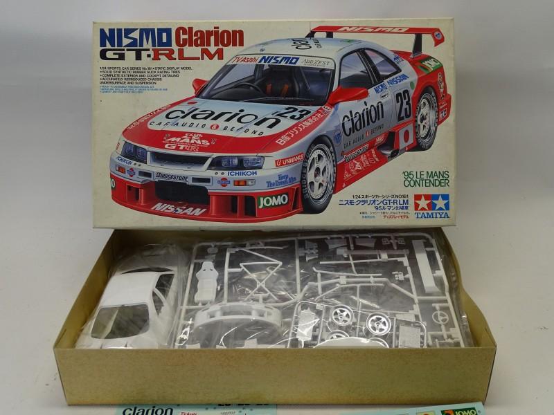 Modelbouw: Nissan Skyline, Nismo Clarion GT-R Le Mans, Tamiya, 1999
