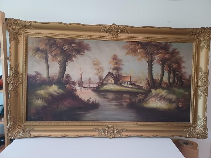 Mooi landschapsschilderij