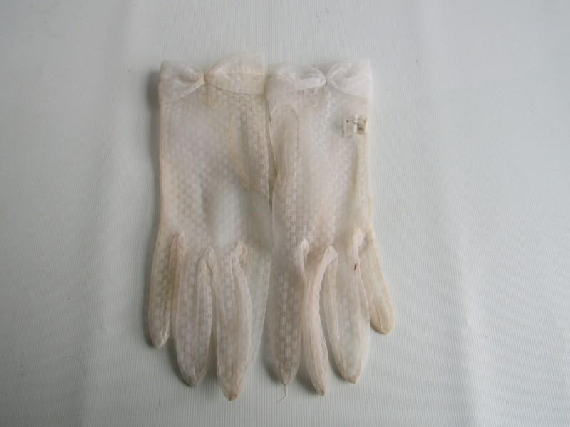 Nylon Handschoenen, Maat: 7