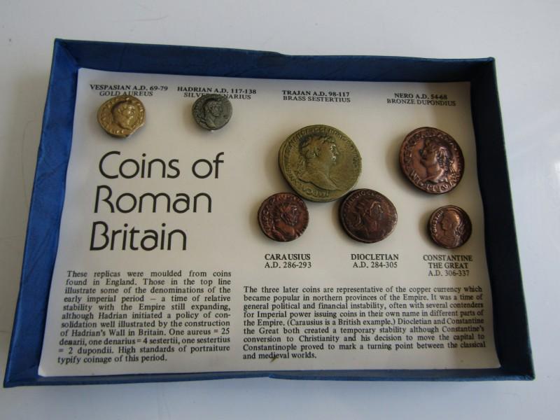 7 Antieke Munten: Coins Of Roman Britain