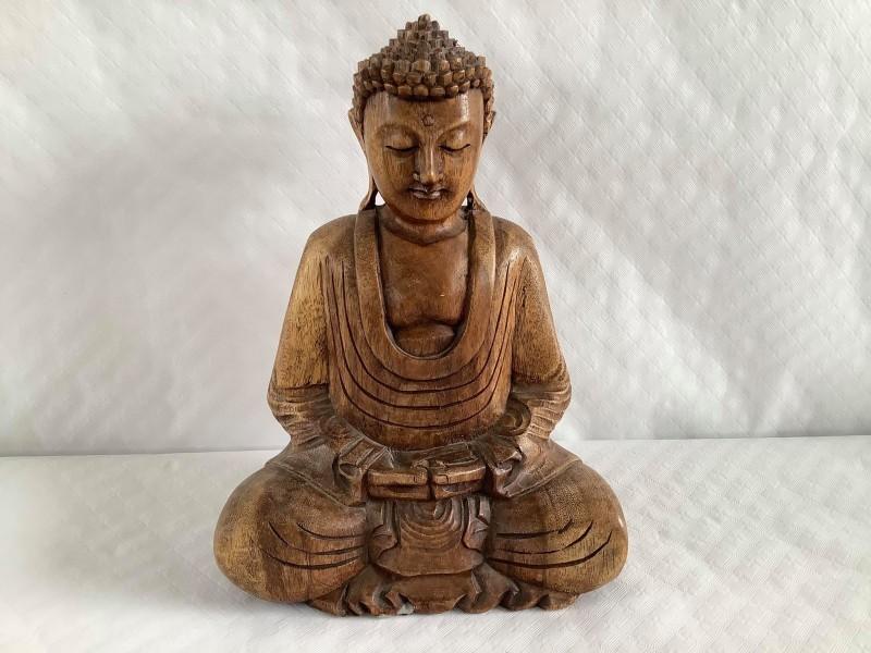 Houten Thaise Boeddha