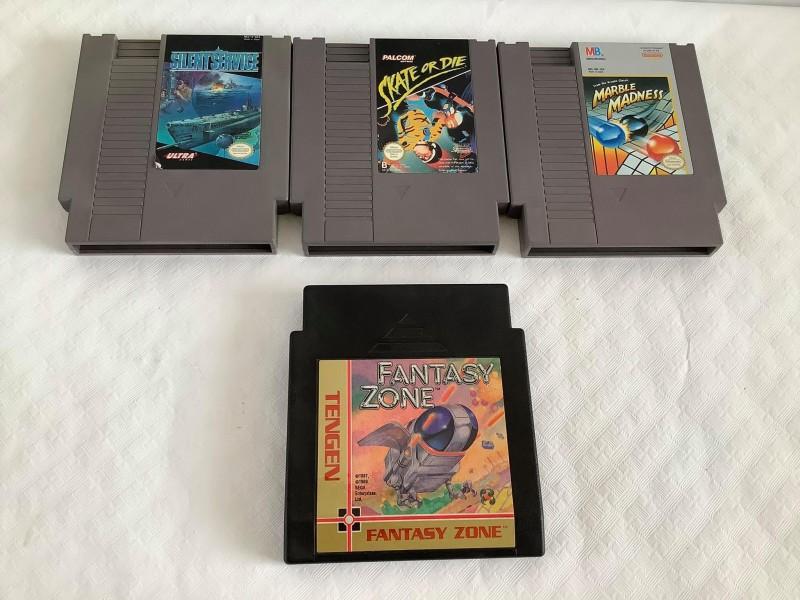 4 games voor de originele Nintendo