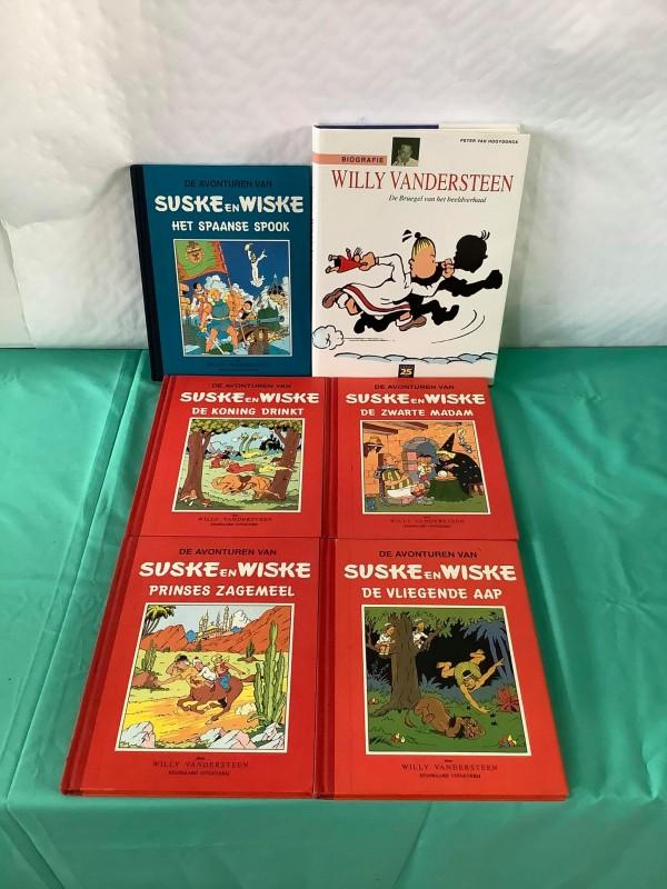 Lot suske en wiske / Willy Vandersteen boeken