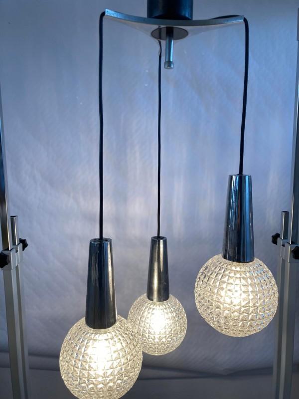 Retro staanlamp met spots