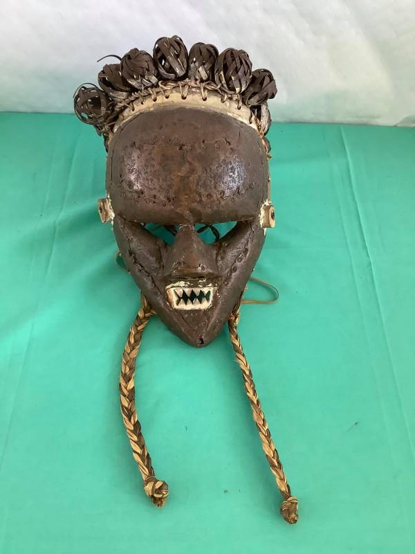 Afrikaans etnisch masker (Vermoedelijk Chokwe uit Angola)