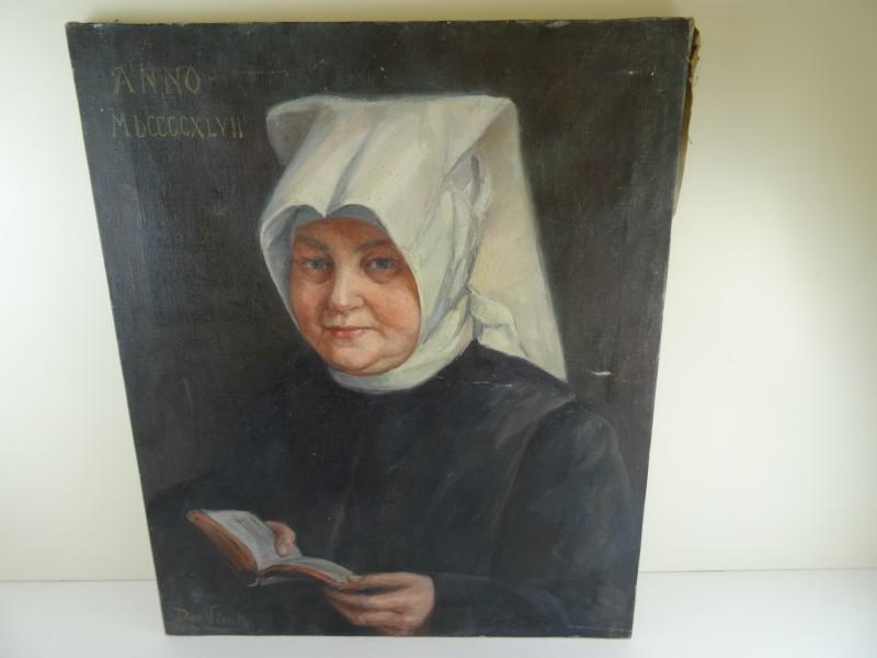 De vinck: portret begijntje anno 1947