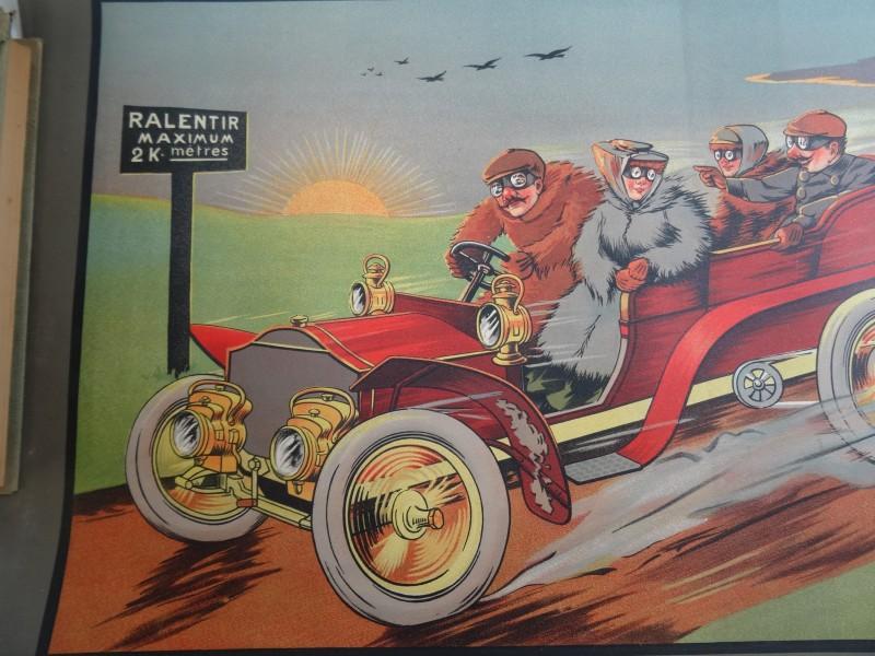 Lot 2 A. Molynk: 2 satirische vintage posters
