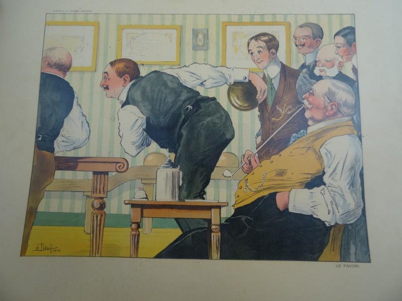 Lot 3: Droit: 3 satirische vintage posters