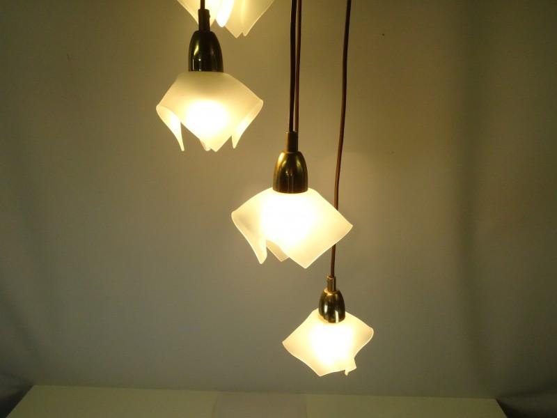 Hanglamp met glazen - Massive
