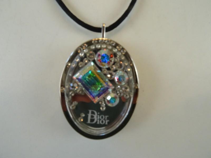 DIOR Aurore Boréal Crystal pendant