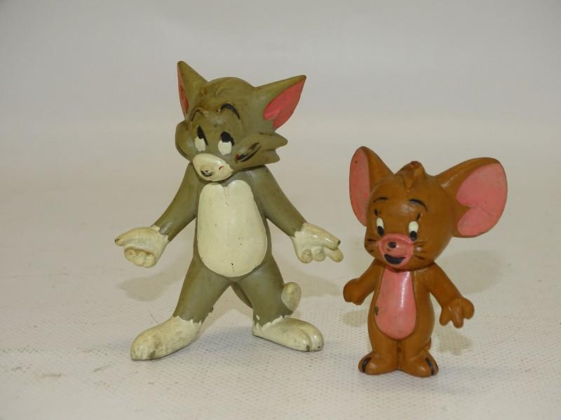 Vintage Tom & Jerry Popjes: Schleich, Duitsland, Jaren 80