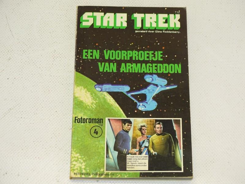 Star Trek Fotoroman 4: Een Voorproefje Van Armageddon, 1978