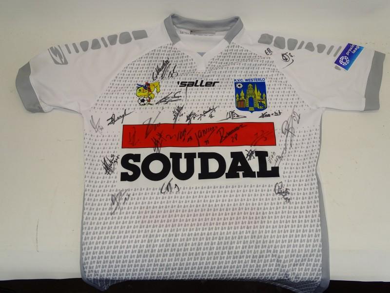 Gehandtekend Voetbal Shirt: KVC Westerlo, 2018