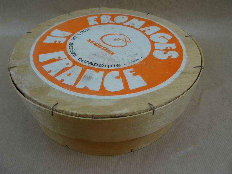 6 kaasborden -Fromage de France
