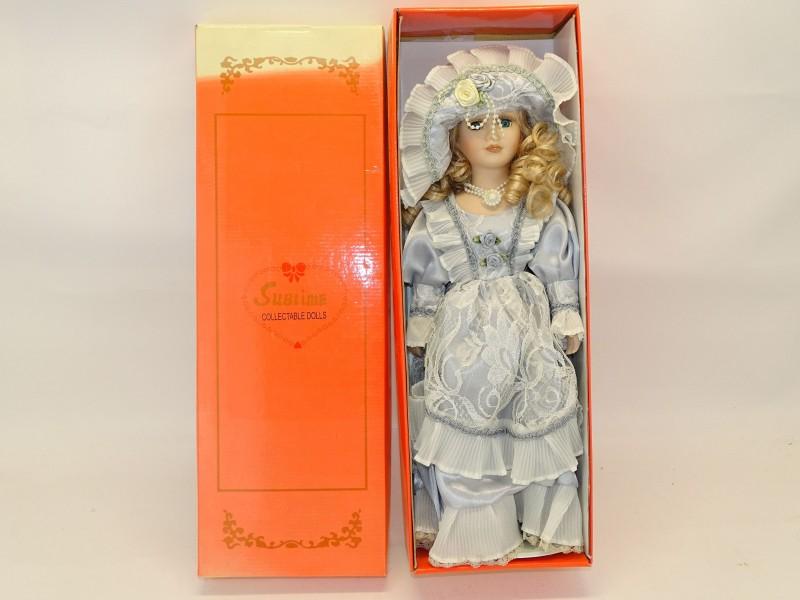 Vintage Porseleinen Pop, Sublime Collectable Dolls, Mirabelle