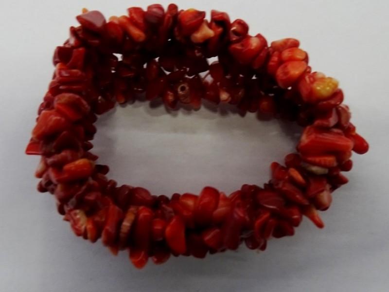 armband uit rode koraal