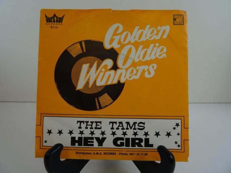 Single The Tams - Hey Girl