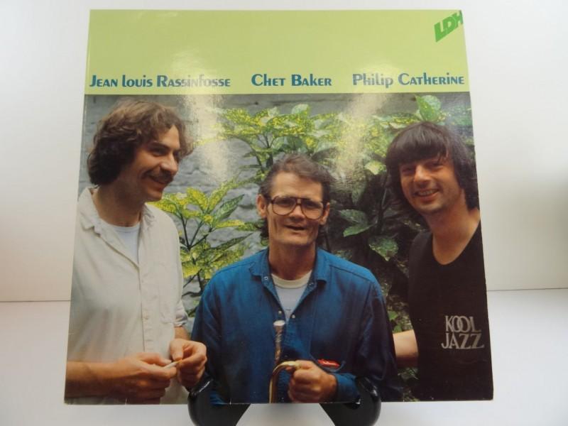 LP: Jean-Louis Rassinfosse / Chet Baker / Philip Catherine – Crystal Bells