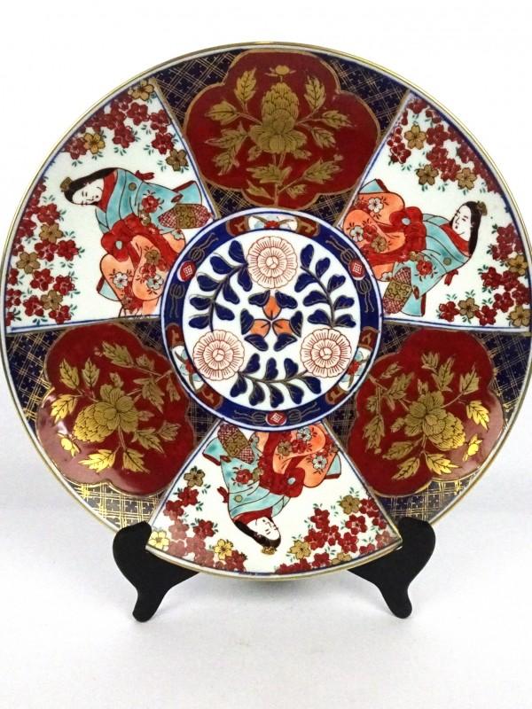 Japanse porseleinen bord