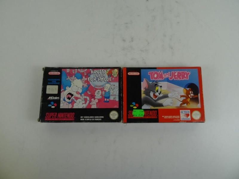 2  x Super Nintendo 's games