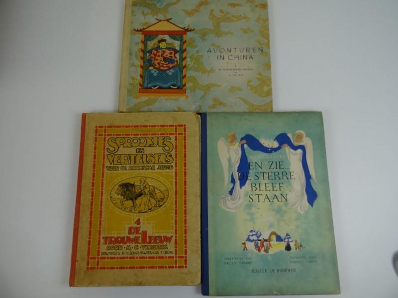 3 charmante kinderboeken Nederlands 1931 1950