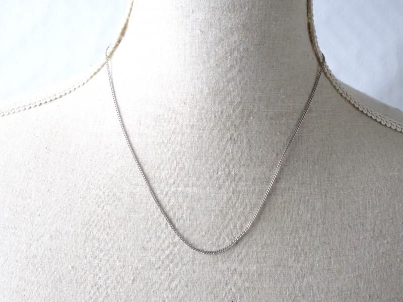 Hoogwaardige zilveren ketting met stempel 925