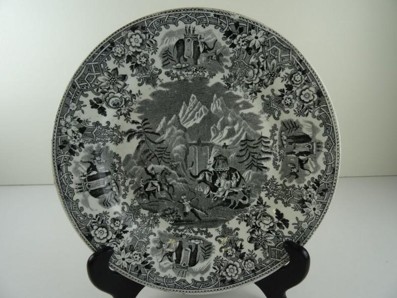 19e Eeuw Bord  - HANIBAL - Societe Ceramique Maestricht