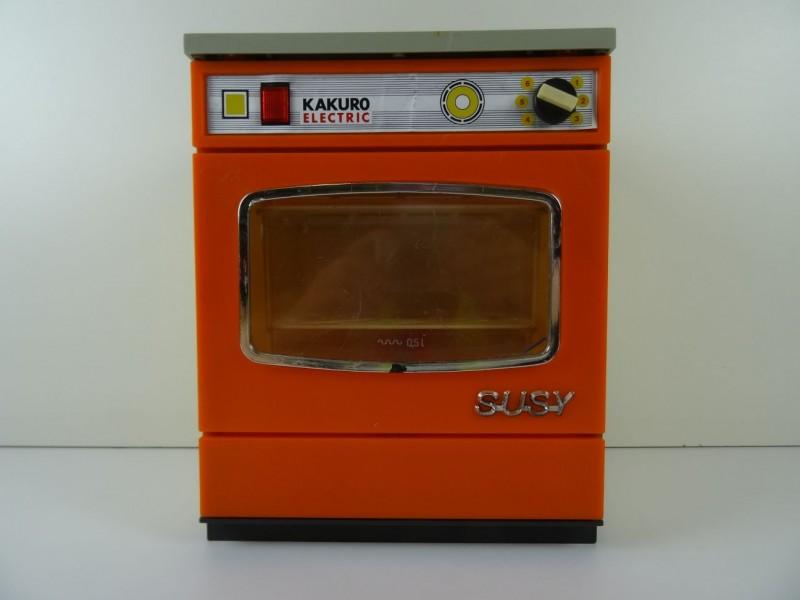 vintage speelgoed Kakuro Electric Susy vaatwasser jaren '70