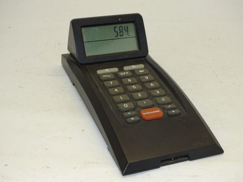 Duochange Calculator / Rekenmachine met Dubbele Display