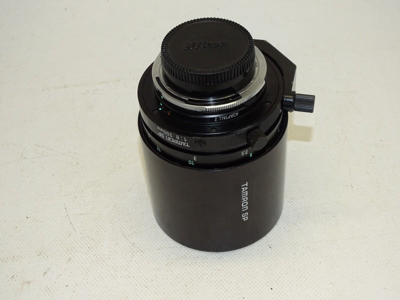 Nikon Tamron SP Spiegel Lens, 1:8 500 MM